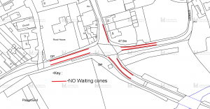 Temporary Traffic Regulation Order Town Green St, Hallfields Lane, North St, Anthony St