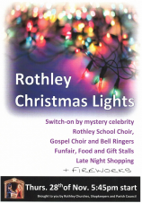 Rothley Christmas Lights Switch on 28th November 2019