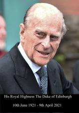 Deeply saddened by the death of The Duke of Edinburgh